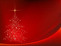 Achtergrond 01 van Kerstmis Stock Foto