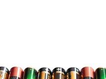 Achtergrond 1 van de batterij Stock Afbeeldingen