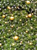 Achtergrond 1 van de kerstboom Stock Afbeelding