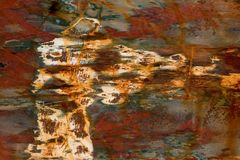 Achtergrond 1 van Grunge Stock Afbeelding