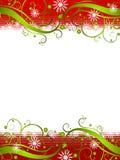Achtergrond 2 van de Sneeuwvlok van het Sprookjesland van de winter Royalty-vrije Stock Foto's