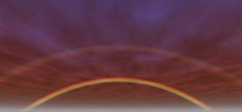 Achtergrond 3 van de regenboog royalty-vrije illustratie