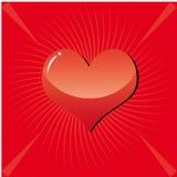 Achtergrond 3 van de valentijnskaart Royalty-vrije Stock Foto