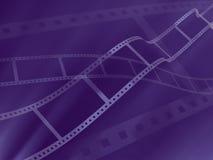 Achtergrond - 3d abstracte fotografische film Stock Fotografie