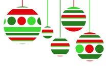 Achtergrond 5 van Kerstmis Royalty-vrije Stock Foto