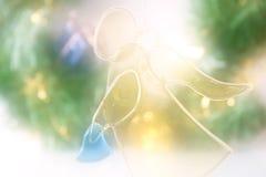 Achtergrond 6 van Kerstmis stock foto