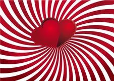 Achtergrond 7 van de valentijnskaart Royalty-vrije Stock Afbeeldingen