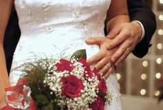 Achtergrond 8242 van het huwelijk Royalty-vrije Stock Foto