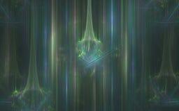 Achtergrond abstract aurora borealis met het fonkelen cijfers Royalty-vrije Stock Afbeeldingen