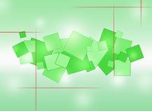 Achtergrond Abstractie met gekleurde cirkels royalty-vrije illustratie