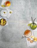Achtergrond Art Bar Cocktails Stock Foto