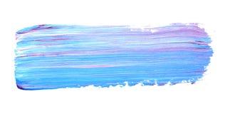 Achtergrond behang Abstract acrylpatroon op een witte achtergrond Creativiteit, hobbys en art. Mengsel van verven Acryltex Royalty-vrije Stock Foto