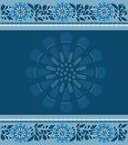 Achtergrond blauw Royalty-vrije Stock Afbeeldingen