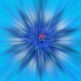 Achtergrond in blauw Royalty-vrije Stock Fotografie