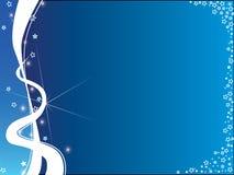 Achtergrond blauw en wit Royalty-vrije Stock Afbeeldingen