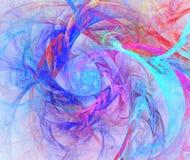 Achtergrond in blauwe en groene en roze toon Stock Afbeeldingen