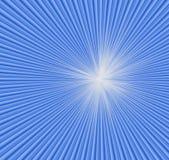 Achtergrond. Blauwe radiale stralen. vector illustratie