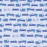 Achtergrond blauwe stuk speelgoed retro auto Stock Fotografie