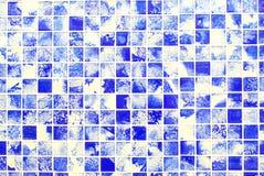 Achtergrond, blauwe, witte, purpere, Ondiepe DOF. Royalty-vrije Stock Foto's