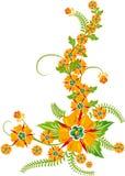 Achtergrond bloem, elementen voor ontwerp, vector Royalty-vrije Stock Foto