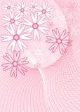 Achtergrond bloem, vector Stock Fotografie