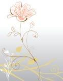 Achtergrond bloemen royalty-vrije illustratie