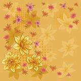 Achtergrond, bloemnarcissen Royalty-vrije Stock Foto's