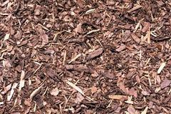 Achtergrond - boomschors verpletterd Stock Fotografie