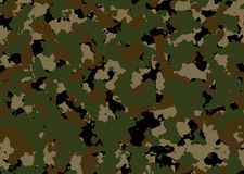 Achtergrond Camouflage Royalty-vrije Stock Afbeelding