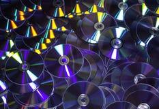 Achtergrond CD en DVD Royalty-vrije Stock Fotografie