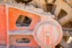 Achtergrond Conceptuele foto van bouwmaterialen Royalty-vrije Stock Foto