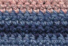 Achtergrond crochet Royalty-vrije Stock Foto