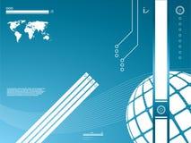 Achtergrond de bedrijfs van de Technologie Stock Fotografie