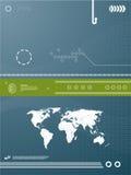 Achtergrond de bedrijfs van de Technologie stock illustratie
