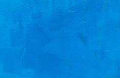 Achtergrond, de blauwe kleur van de textuurmuur. ontwerp Stock Fotografie