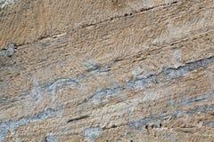 Achtergrond, de geweven muur van de zandsteen royalty-vrije stock afbeeldingen