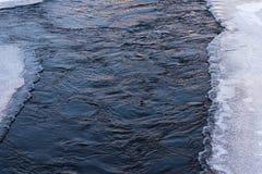 Achtergrond de oorsprong van het de waterijs en sneeuw stock foto