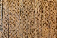 Achtergrond De textuur van de oude houten latjes Oud Trillo, ver stock foto