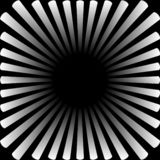 Achtergrond in de vorm van een witte zon met stralen royalty-vrije illustratie
