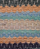 Achtergrond - deken van het close-up de oude vod Royalty-vrije Stock Fotografie