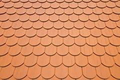 Achtergrond die van dakwerktegels wordt gemaakt Royalty-vrije Stock Afbeelding