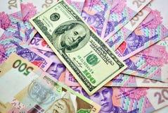 Achtergrond die van geld wordt gemaakt Stock Fotografie