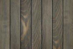 Achtergrond die van houten planken wordt gemaakt Stock Afbeelding
