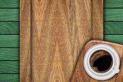 Achtergrond die van houten planken wordt gemaakt royalty-vrije stock foto's