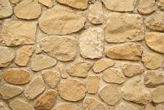 Achtergrond die van oude muur wordt gemaakt Royalty-vrije Stock Foto