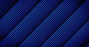 Achtergrond Dikke Lijnanimatie die weg in Blauwe Tonen op Zwarte van 4k Animatiekader langzaam verdwijnen vector illustratie
