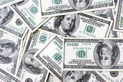 Achtergrond dollars. stock afbeeldingen