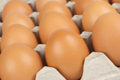 Achtergrond eieren Stock Afbeelding