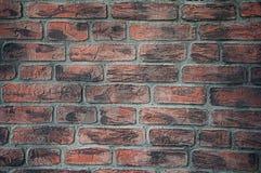 Achtergrond en textuur van bakstenen op de muur barsten schade stock afbeeldingen