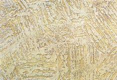 Achtergrond en textuur van decoratief pleister om de muren en de plafonds te behandelen achtergrond voor ontwerp en decoratie stock foto's